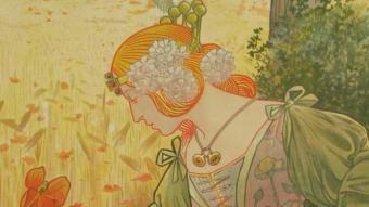 """""""Al·legoria de l'estiu"""", pintada per Riquer el 1897."""