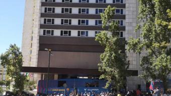 L'hotel del Barça a Lisboa
