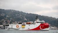El vaixell turc de prospeccions sísmiques 'Oruç Reis' enviat a aigües prop de les illes gregues