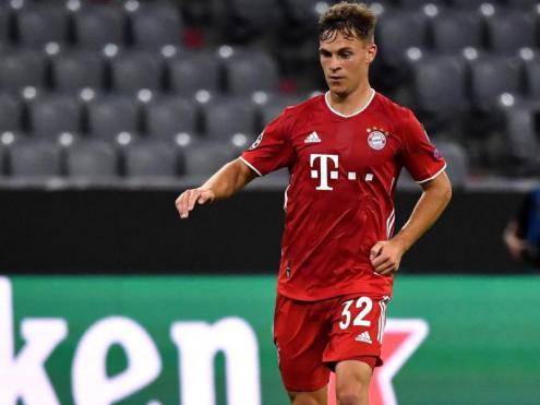 Joshua Kimmich, jugador del Bayern de Munic