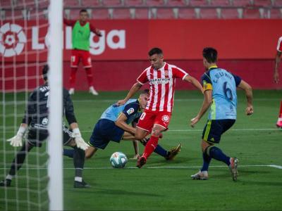Borja García va tenir una bona ocasió per marcar el 2-0