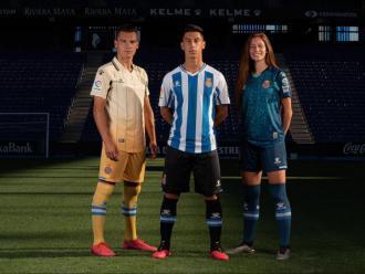 Els tres nous equipaments que l'Espanyol utilitzarà el curs entrant