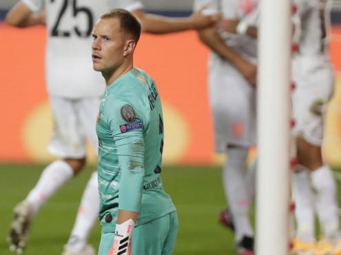 El Barça rep vuit gols per primera vegada en 74 anys