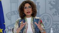 La portaveu del govern espanyol, Marís Jesús Montero