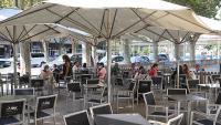 L'aforament a terrasses i bars està limitat a un màxim del 50%