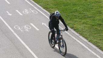 La qualitat de l'aire es mesurarà a través de nanosensors instal·lats a bicicletes
