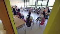 Una classe a l'Institut Escola Trinitat Nova