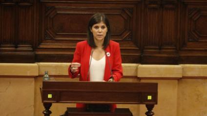 La portaveu d'ERC i diputada al Parlament, Marta Vilalta