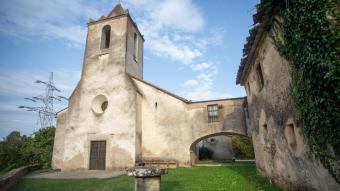 L'ajuntament de Brunyola proposa al departament d'Educació que l'antiga rectoria de Sant Martí Sapresa (a la imatge) i l'entorn funcionin com a escola a partir de l'any que ve.