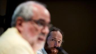 Marc Duch i Ricard Faura, portaveus de Més que una Moció