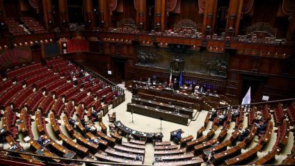 La cambra de diputats del Parlament italià en una votació el 2 de setembre passat