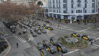 Els taxistes de Barcelona ajornen la marxa lenta prevista per aquest dimarts