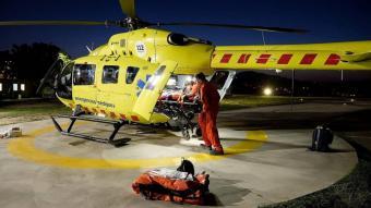 Helicòpter del Sistema d'Emergències Mèdiques (SEM)