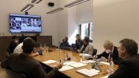 Sessió plenària ahir de forma telemàtica
