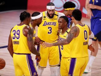 Els Lakers, 1-0 per primer cop