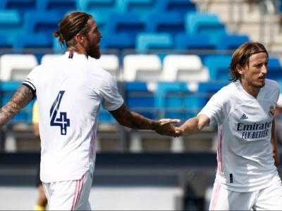 Modric i Ramos, en la pretemporada