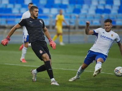 Arijanet Muric va fer un partit impecable a la Romareda