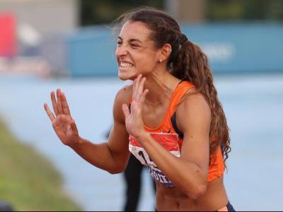Sara Gallego va sumar per a la selecció catalana els triomfs en els 400 m tanques i el relleu mixt de 4x400 m