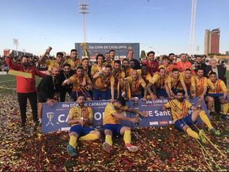 El Sant Andreu , guanyador de l'edició 2018/19, encara és el darrer campió de la Copa Catalunya
