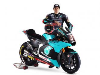Xavi Vierge amb la Kalex de l'equip Petronas Sprinta Racing