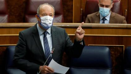 El ministre de Justícia, Juan Carlos Campo, al Congrés