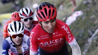 Nairo Quintana en el Tour de França