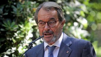L'expresident de la Generalitat, Artur Mas