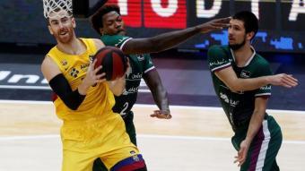 Claver contra l'Unicaja en la darrera fase final de l'ACB