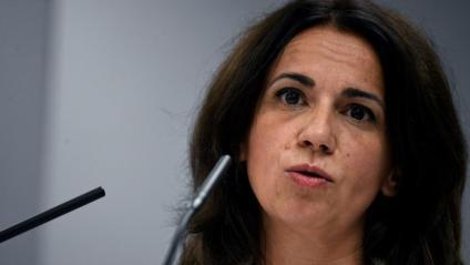 Sílvia Calzón, secretaria d'estat de Sanitat, ha donat aquest dijous la roda de premsa diària per informar de l'evolució de la pandèmia a Espanya