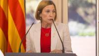 Carme Forcadell al Parlament de Catalunya