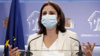 La portaveu del PSOE, Adriana Lastra