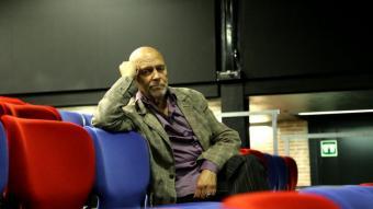 Hermann Bonnín, assegut a les butaques de La Seca, el 2013  (avui Escenari Joan Brossa)