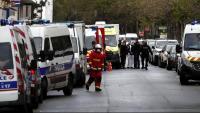 Desplegament policial i d'emergències al lloc de l'atac