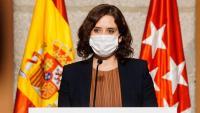 A diferència del passat dia 18 –foto–, aquest divendres la presidenta de la Comunitat de Madrid no ha comparegut per anunciar les mesures que prendrà el seu govern per frenar la pandèmia