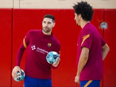 Blaz Janc, al costat de Thaigus Petrus, torna a la convocatòria del Barça contra el seu exequip i després de la recent paternitat