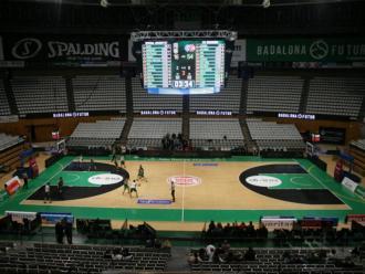 El Palau Olímpic en el debut ACB