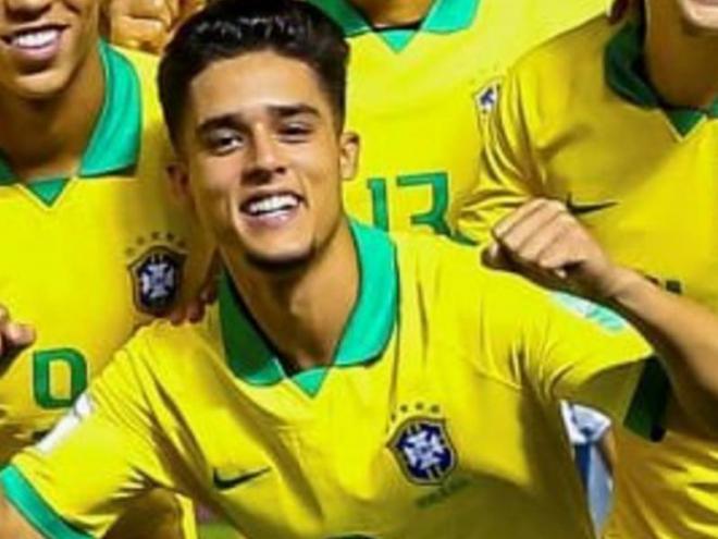 Yan Couto amb el Brasil