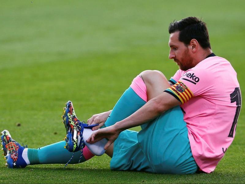 Messi atia el foc