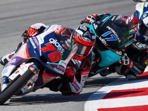Arenas encapçala un grup de Moto 3 en el circuit de Barcelona-Catalunya