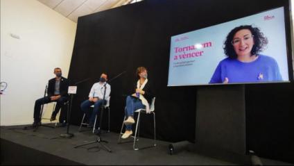 Presentació a Tortosa del llibre de Marta Rovira i Oriol Junqueras