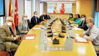 Reunió del Grup Covid-19 entre el govern espanyol i la Comunitat de Madrid
