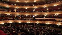 Pla general del Gran Teatre del Liceu, amb l'aforament reduït a la meitat per la covid-19
