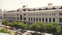 Edifici del Banc d'Espanya, al carrer d'Alcalá de Madrid