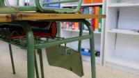 El pupitre d'una escola