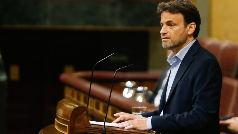 El portaveu d'Unides Podemos al Congrés, Jaume Asens