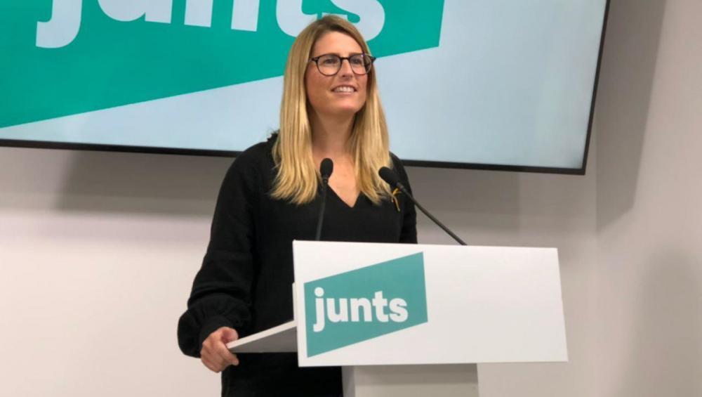 La portaveu de JxCat, Elsa Artadi