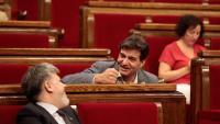 Albert Batet i Sergi Sabrià al Parlament
