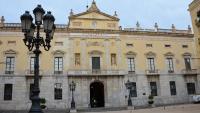 La façana de l'Ajuntament de Tarragona