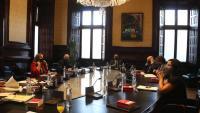 Reunió de la Mesa del Parlament aquest dimarts 29 de setembre