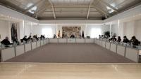 Imatge de la reunió celebrada aquest matí